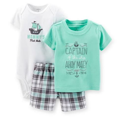 carters 3 piece baby boy plaid short 1802 best images about bryant style on pinterest kids