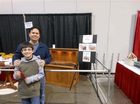 woodworking show portland arts and crafts library desk 1 building legs cutting