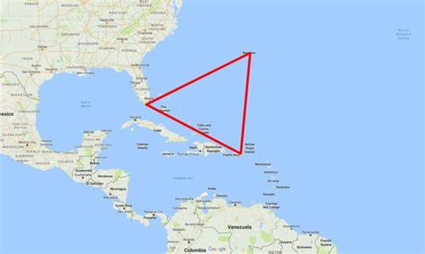 bermuda triangle map bermuda triangle s secrets revealed mysterious region which has swallowed 300