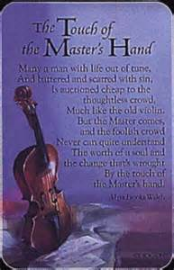 Touch of the masters hand pocket card a mini gift perfect for