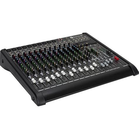 Mixer Black Widow 16 Channel rcf l pad 16cx usb 16 channel mixing console lpad 16cx usb b h