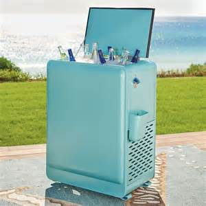 patio beverage cooler outdoor chest beverage cooler ideas for your patio or deck