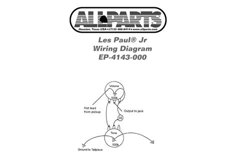 epiphone sg junior wiring diagram wiring diagram schemes