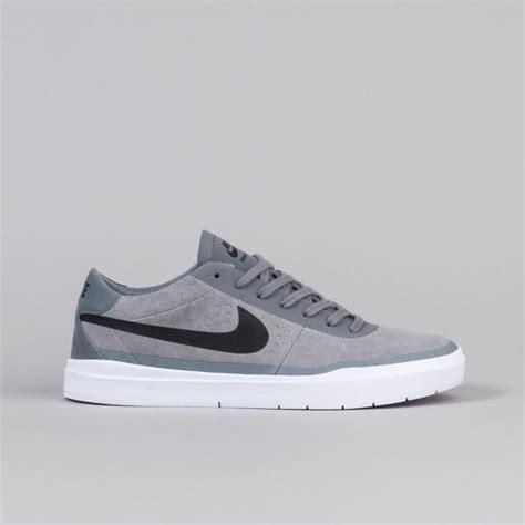 nike sb bruin hyperfeel shoes cool grey black white