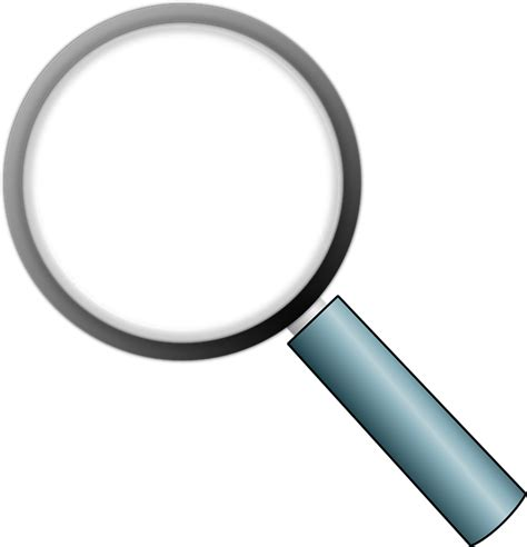 Kaca Pembesar Loupe Magnifying Glass Magnifier Lens magnifying glass 183 free vector graphic on pixabay