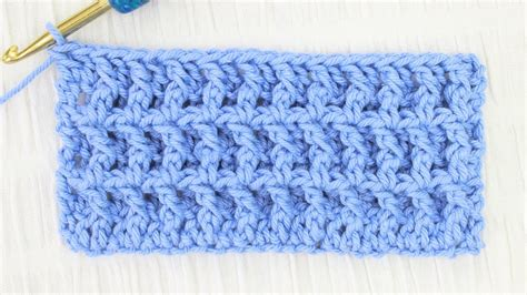 waffle stitch crochet tutorial waffle stitch crochet tutorial youtube