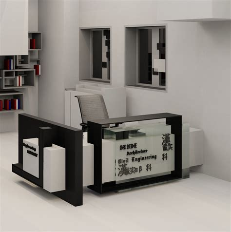 revit reception desk revit reception desk 3d revit model glass reception desk
