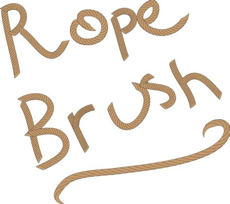 rope pattern brush illustrator download create your own vector rope brush in adobe illustrator