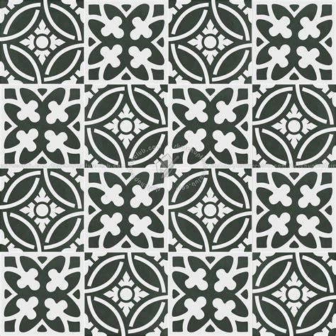 Victorian cement floor tile texture seamless 13676