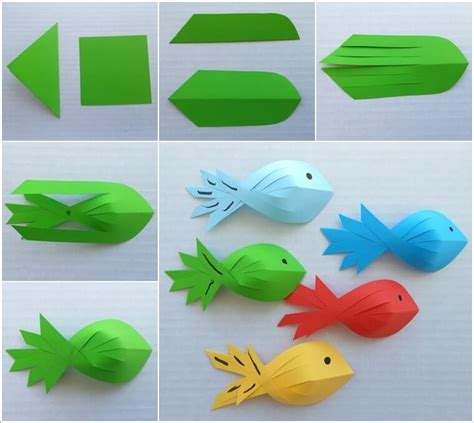Simple Paper Crafts For Children - 10 easy paper crafts to try with