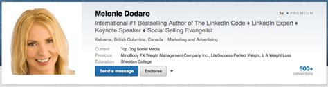 Profile Headline Exles In Linkedin How To Show Your Mba by 10 Steps To A Complete Linkedin Profile Makeover Tutorial