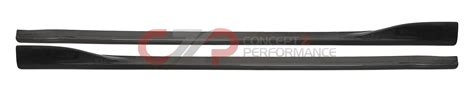 chargespeed cs722ssc bottom line side skirts carbon