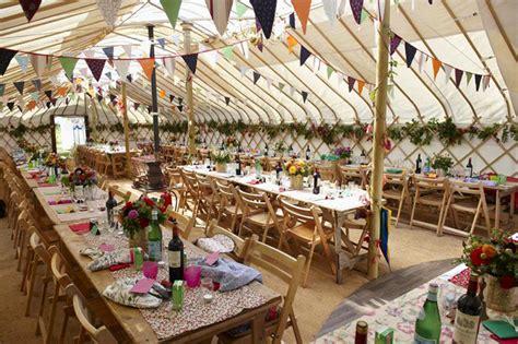 wedding reception in back garden uk cheltenham yurt hire marquee hire in cheltenham