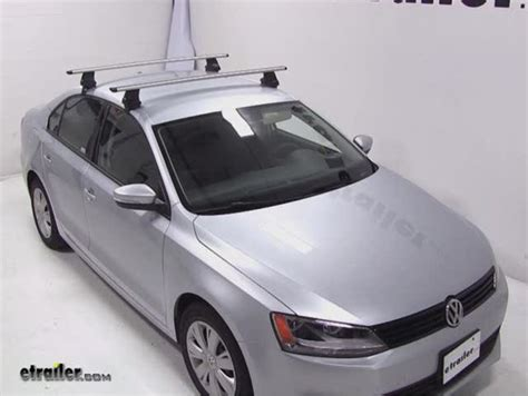 Vw Cc Roof Rack by Thule Roof Rack For 2012 Jetta By Volkswagen Etrailer