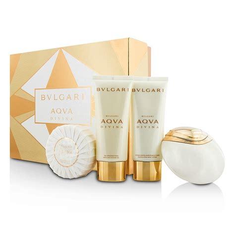 Parfum Bvlgari Aqva Divina bvlgari new zealand aqva divina coffret edt spray 65ml 2 2oz lotion 100ml 3 4oz