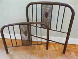 Antique Iron Headboards Queen by Antique Simmons Iron Bed Frame Headboard By