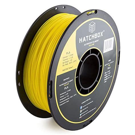 Filament Pla 3d Printer 175 Mm Silver hatchbox 3d pla 1kg1 75 ylw pla 3d printer filament import it all
