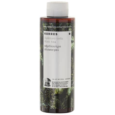 Korres Shower Gel by Korres Mint Tea Shower Gel 250ml Health Thehut