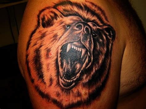 cool bear tattoo gallery tattoo designs pinterest
