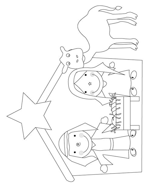 printable christmas cards to color nativity manger scene coloring page az coloring pages