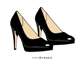 descargar sapatos vectores y gr 225 ficos de salto alto