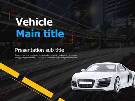 Car Ppt Template Goodpello Car Powerpoint Template