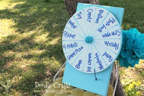 Diy Spinner Prize Wheel U Create How To Make Your Own Wheel Of Fortune