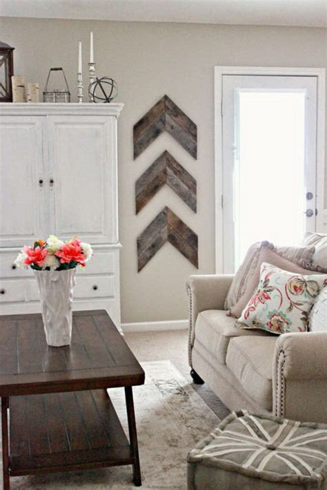 Rustic Living Room Wall Decor by 30 Pretty Rustic Living Room Ideas Noted List