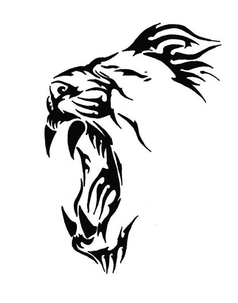 easy lion tattoo designs best 831 stencil images on pinterest art