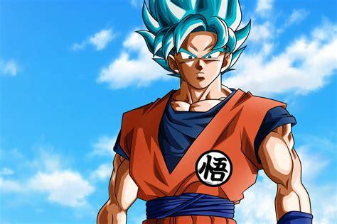 imagenes de goku ultra super saiyajin super saiyajin azul background by nekoar on deviantart