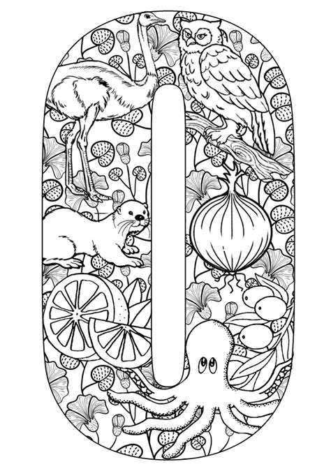 coloring pages for the letter o the letter o coloring pages az coloring pages