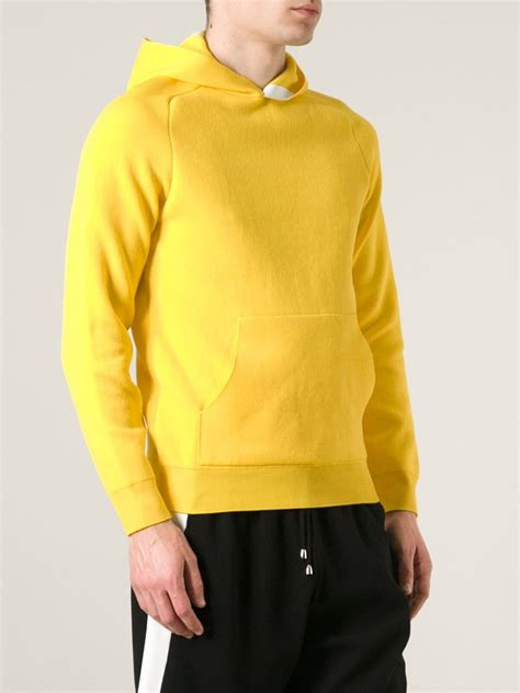 Hoodie Yellow Claw 06 lyst jupiter classic hoodie in yellow for