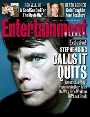 Stephen King Essays Entertainment Weekly by As As Possible Stephen King Should Be Fired