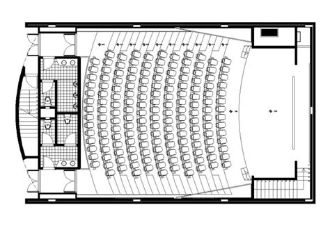 auditorium plan  cad blocks drawings