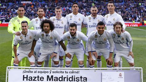 fotos real madrid equipo real madrid l 237 deres en juego limpio marca com