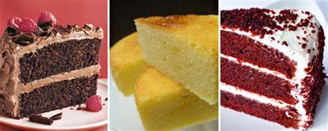 different types different cake types