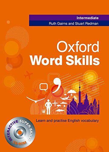 libro oxford word skills intermediate stuart redman author profile news books and speaking inquiries