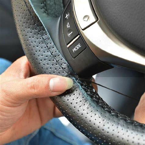 Anti Gores Gagang Pintu Mobil Untuk Audi Toyota Honda Volkswagen cover setir mobil kulit diy dengan alat jahit black