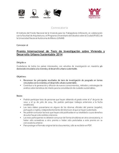convocatorias y prestaciones premio europa de tesis convocatoria al premio internacional de tesis de