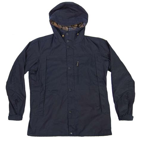 barbour millom wax jacket navy mens jackets from attic