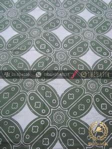 Baju Hj Tribal Pandan 1 jual kain batik bahan baju motif kawung besar hijau