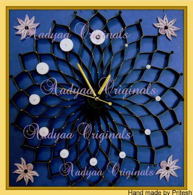 quilling clock tutorial 1000 images about quilled clocks on pinterest
