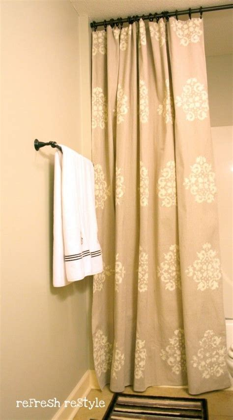 stencil curtains 17 best ideas about painted curtains on pinterest bright