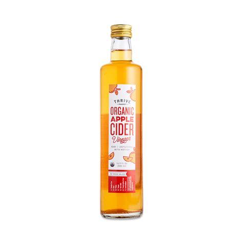 Apple Cider Vinegar organic apple cider vinegar thrive market