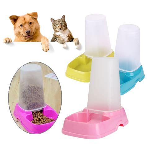 Tempat Makan Anjing Kucing Kecil tempat dispenser makanan makan hewan anjing kucing