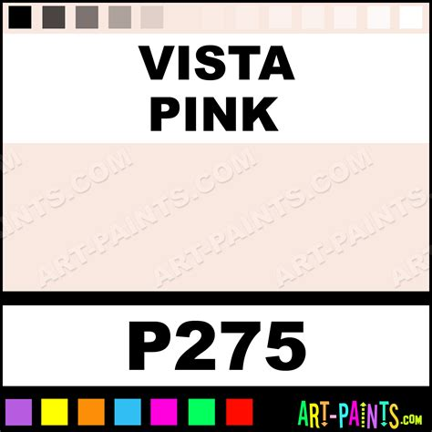 vista pink ultra ceramic ceramic porcelain paints p275 vista pink paint vista pink color