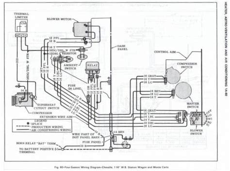 1966 chevelle headlight wiring diagram wiring automotive