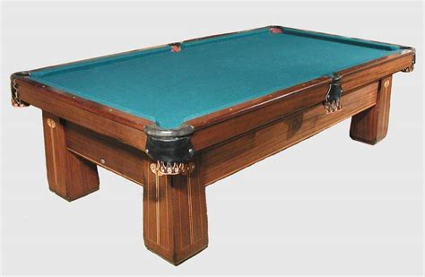 antique brunswick billiard tables for sale