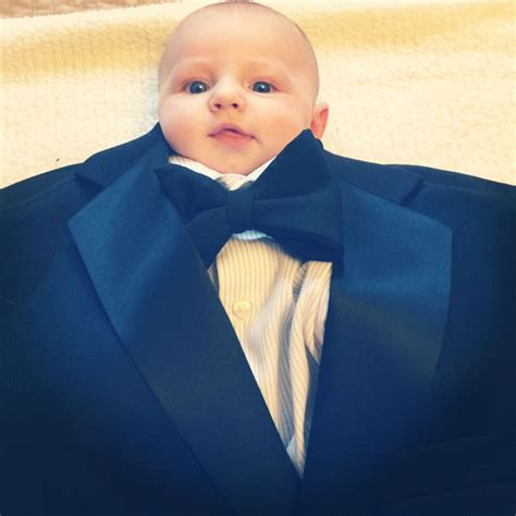 Tuxedo Baby Meme - babies in suits is baby suiting incredible things
