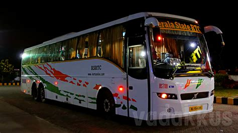 indian volvo service kerala ksrtc volvo b9r rs788 of kottayam fottams
